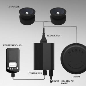 体感音乐振动器控制系统