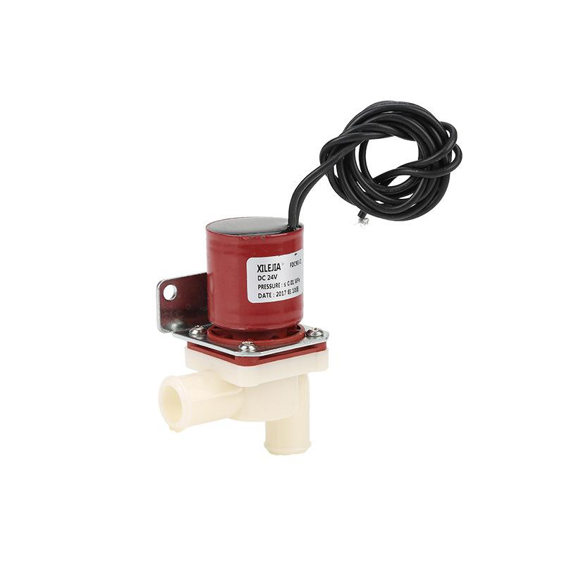 厂家直销无压电磁阀可定制24V/115V/220V通电制冰机洗地机配件