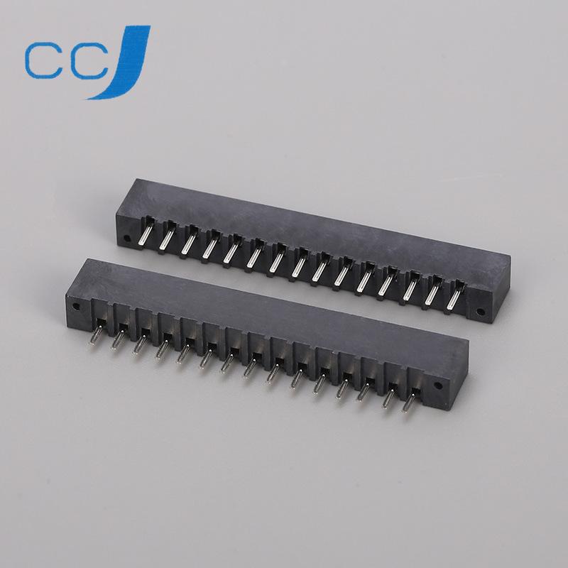 优质生产家大量批发 2.54-A-nP/W 2.54mm双面接立式直/弯插