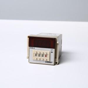 供应JS48A系列数显时间继电器数显拨码式控制器通电延时时间