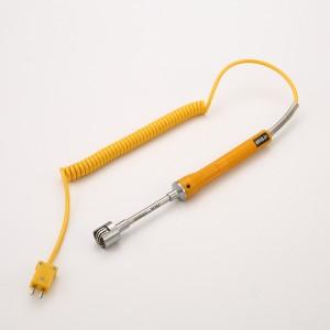 供应WRNM-01系列表面热电偶直柄式温度传感器K型测温探头